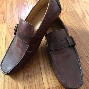 Like New! Men's Aldo Shoes Leather Loafers - 41